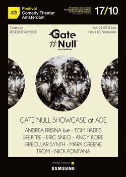 Gate Null Showcase at ADE 2014 - Amsterdam