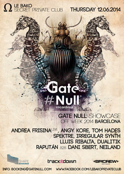 Gate Null Showcase at Off Sonar 2014 - Barcelona