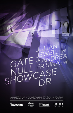 Gate Null Showcase at Guacara Taina - Santo Domingo (March 2015)