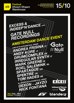 Gate Null Showcase at ADE 2015 - Amsterdam