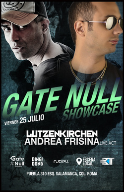 Gate Null Showcase at Dc310 - Mexico City (July 2014)