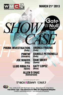 Gate Null Showcase at WMC 2013 - Miami