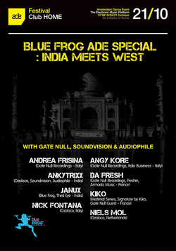 Gate Null Showcase at ADE 2012 - Amsterdam