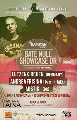 Gate Null Showcase at Guacara Taina - Santo Domingo (July 2014)